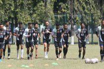 Mohammedan Sporting Club squad in training. (Photo courtesy: Mohammedan Sporting Club)