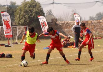 Training session at a BFFS Residential Academy. (Photo courtesy: Bhaichung Bhutia Football Schools)