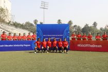 Legacy activities for FIFA U-17 Women's World Cup India 2022: Coach Education Scholarship Programme at The Cooperage in Mumbai. (Photo courtesy: AIFF Media)