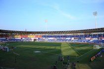 The Jawaharlal Nehru Stadium in Fatorda, Goa. (Photo courtesy: AIFF Media)