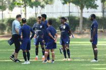 Indian national team training session. (Photo courtesy: AIFF Media)