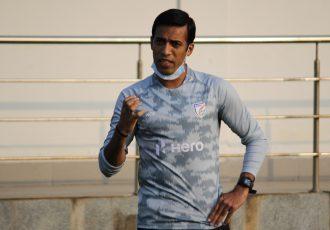 Indian Arrows assistant coach Mahesh Gawli. (Photo courtesy: AIFF Media)