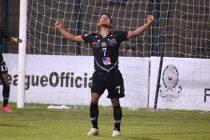 Mohammedan Sporting Club's Vanlalbiaa Chhangte celebrates a goal in the Hero I-League. (Photo courtesy: AIFF Media)
