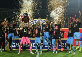 Hero Indian Super League 2020/21 champions Mumbai City FC. (Photo courtesy: ISL Media)