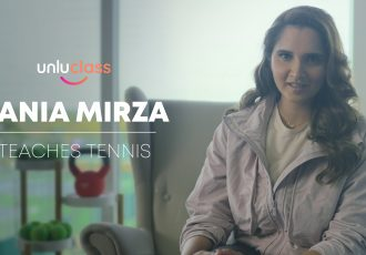 unluclass with Sania Mirza. (Photo courtesy: Unlu)