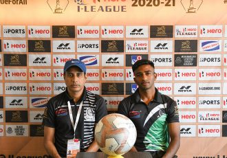 Hero I-League pre-match press conference with Mohammedan Sporting Club head coach Sankarlal Chakraborty. (Photo courtesy: Mohammedan Sporting Club)