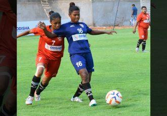 FAO Odisha Women's League match action. (Photo courtesy: Football Association of Odisha)