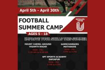 FC Bengaluru United Football Summer Camps in April 2021. (Image courtesy: FC Bengaluru United)
