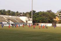 Goa Professional League match action between Dempo SC and Youth Club of Manora. (Photo courtesy: Dempo SC)