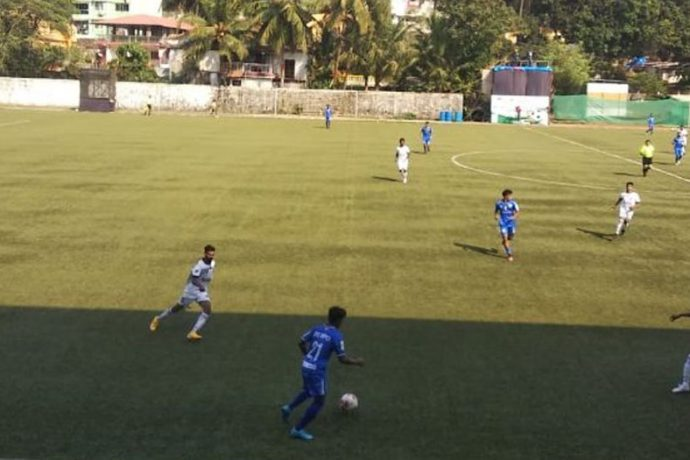 Goa Professional League match action between Dempo SC and Panjim Footballers. (Photo courtesy: Dempo SC)