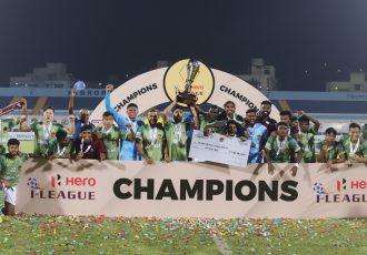 Hero I-League 2020/21 champions Gokulam Kerala FC. (Photo courtesy: AIFF Media)