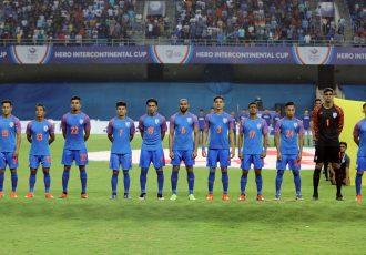The Indian national football team. (Photo courtesy: AIFF Media)