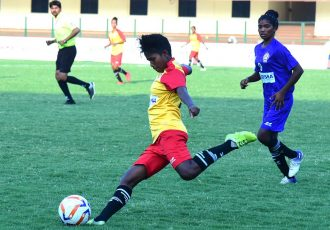FAO Odisha Women's League match action between Rising Student Club and Sports Hostel. (Photo courtesy: AIFF Media)