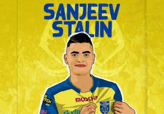 Promising left-back Sanjeev Stalin joins Kerala Blasters FC. (Image courtesy: Kerala Blasters FC)