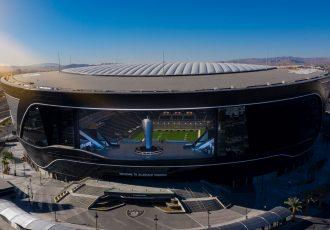 The Allegiant Stadium in Las Vegas, NV. (Photo courtesy: Concacaf)
