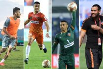 FC Goa's Indian national team players. (Photo courtesy: AIFF Media)