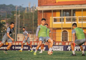 FC Goa players in training. (Photo courtesy: FC Goa)