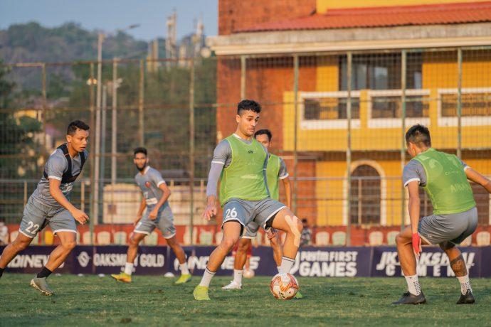 FC Goa players in training. (Photo courtesy: FC Goa)