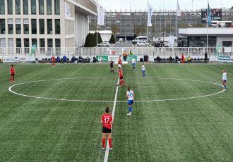 2nd Division Women's Bundesliga: FSV Gütersloh 2009 vs FC Carl Zeiss Jena at the Tönnies Arena. (Photo: CPD Football)