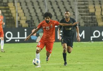 FC Goa's Glan Martins in action against Al-Rayyan SC in an AFC Champions League encounter. (Photo courtesy: FC Goa)