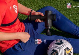 Hyperice and U.S. Soccer launch multiyear partnership. (Photo courtesy: Hyperice)
