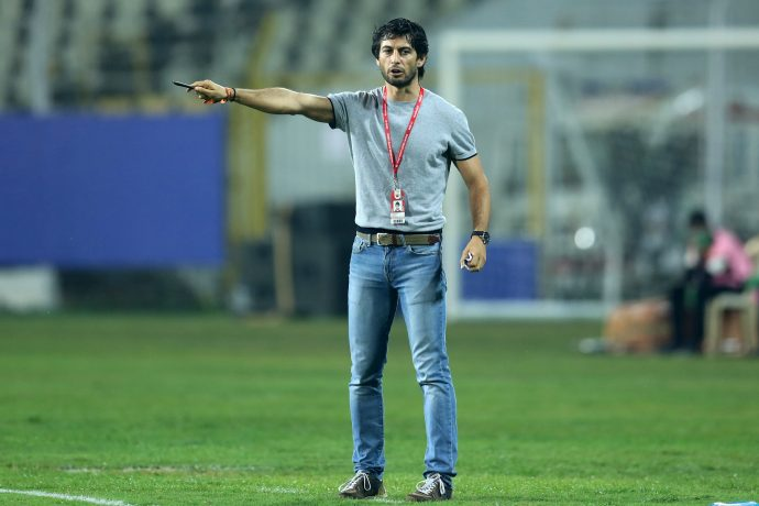 FC Goa head coach Juan Ferrando Fenoll. (Photo courtesy: AIFF Media)