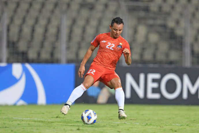FC Goa winger Redeem Tlang. (Photo courtesy: FC Goa)