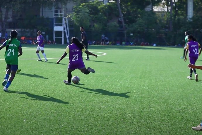 The AIFF resumes trials and scouting after the lockdown. (Photo courtesy: AIFF Media)