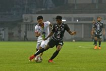 Mohammedan Sporting Club midfielder Suraj Rawat (#36) in action in the Hero I-League. (Photo courtesy: Mohammedan Sporting Club)