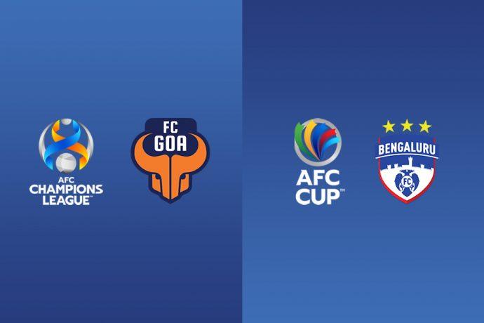 AFC Champions League x FC Goa | AFC Cup x Bengaluru FC