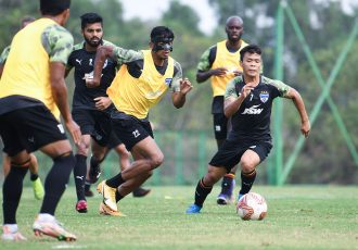 Bengaluru FC players in training. (Photo courtesy: Bengaluru FC)