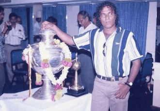 File picture of former Indian national team star Bruno Coutinho. (Photo courtesy: AIFF Media)