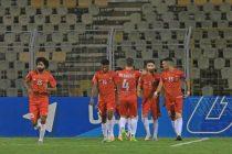 FC Goa players celebrate a goal. (Photo courtesy: AIFF Media)