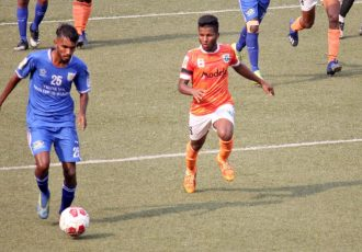 Selvel Goa Professional League match action between Sporting Clube de Goa and Dempo SC. (Photo courtesy: Dempo Sports Club)