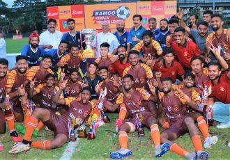 2020/21 Ramco Kerala Premier League champions Gokulam Kerala FC. (Photo courtesy: Gokulam Kerala FC)