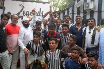 The inaugural edition of the Legends Cup concluded at the High Court Ground on April 11, 2021. (Photo courtesy: Mohammedan Sporting Club)