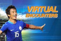 Virtual Encounter with Indian football legend Bhaichung Bhutia. (Photo courtesy: Prasar Bharati Sports)