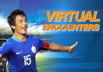 Virtual Encounter with Indian football legend Bhaichung Bhutia. (Photo courtesy: Prasar Bharati Sports)