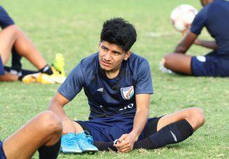 Indian national team midfielder Anirudh Thapa. (Photo courtesy: AIFF Media)