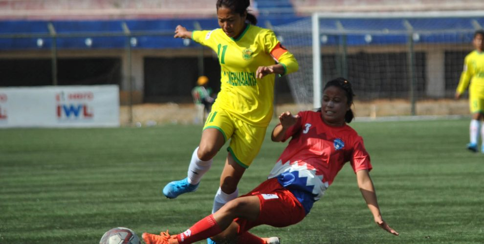 Hero Indian Women's League match action. (Photo courtesy: AIFF Media)