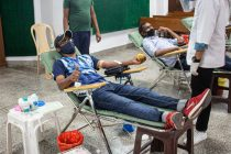 Blood donation camp at Minerva Academy in Mohali. (Photo courtesy: Minerva Academy FC)