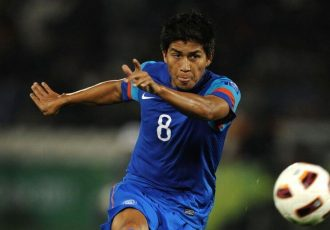 File picture of former India midfielder Renedy Singh. (Photo courtesy: AIFF Media)