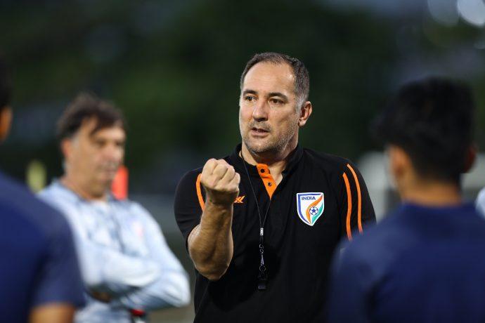 Indian National Football Team Head Coach Igor Štimac. (Photo courtesy: AIFF Media)