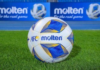 Molten becomes the Asian Football Confederation's Official Match Ball Supplier for 2021. (Photo courtesy: AFC)