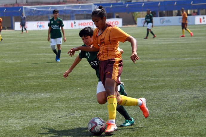 File picture of Hero Indian Women's League (IWL) match action. (Photo courtesy: AIFF Media)