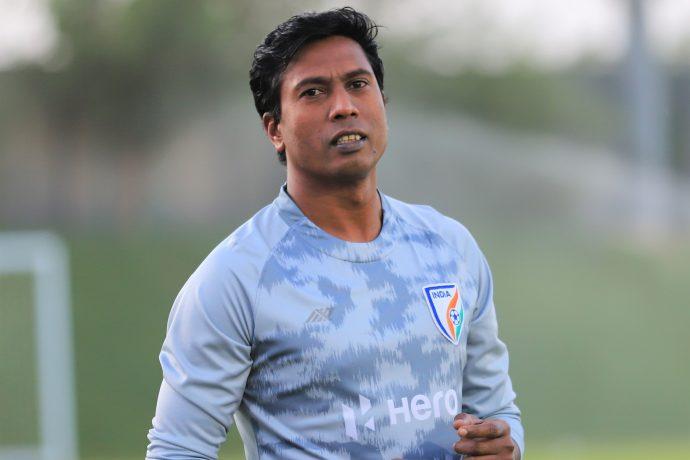 Indian national team assistant coach Shanmugam Venkatesh. (Photo courtesy: AIFF Media)