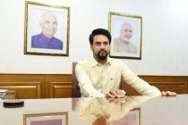 Shri Anurag Thakur, Minister of Youth Affairs & Sports, Government of India. (Photo courtesy: Press Information Bureau, Government of India)