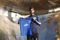 Bengaluru FC latest signing: Kashmiri frontman Danish Farooq. (Photo courtesy: Bengaluru FC)