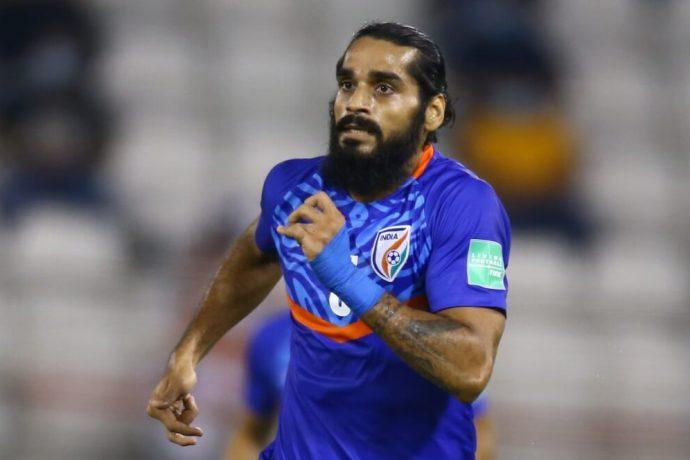 Indian national team defender Sandesh Jhingan. (Photo courtesy: AIFF Media)