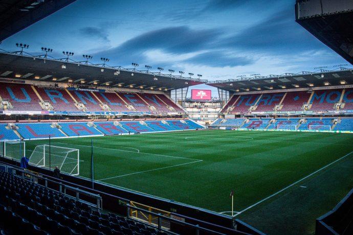Turf Moor, the home ground of Burnley Football Club. (Photo courtesy: AstroPay / Burnley FC)